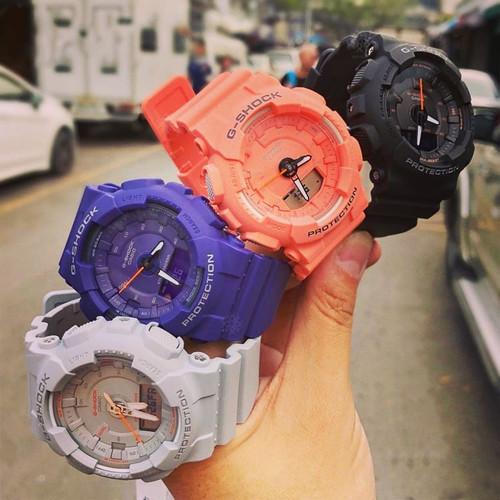 G-Shock GMAS130VC S-Series Step Tracker Coral (GMAS130VC-4A)
