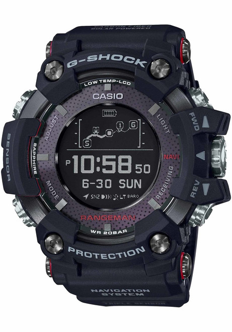 G-Shock GPR-B1000 Rangeman GPS Navigation Black (GPRB1000-1)