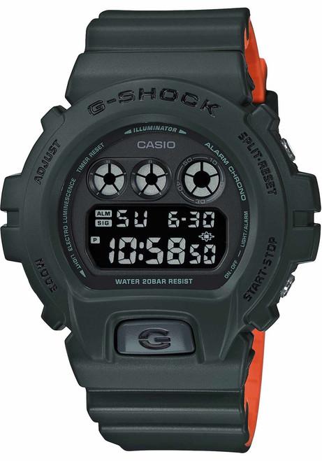 G-Shock DW6900LU Green Orange (DW6900LU-3)