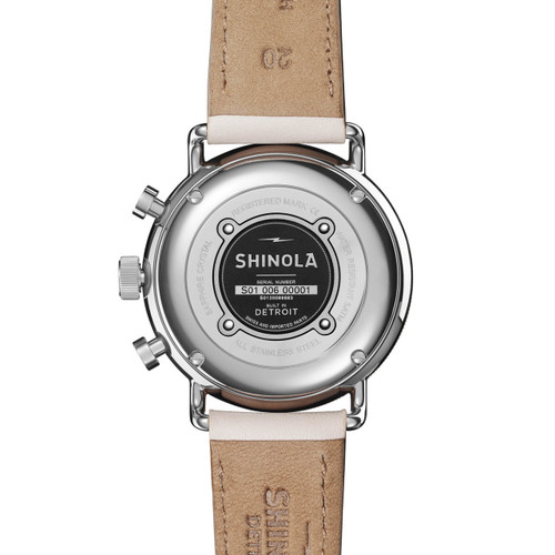 Shinola Canfield Sport Chrono 40mm Blush (S0120089883)