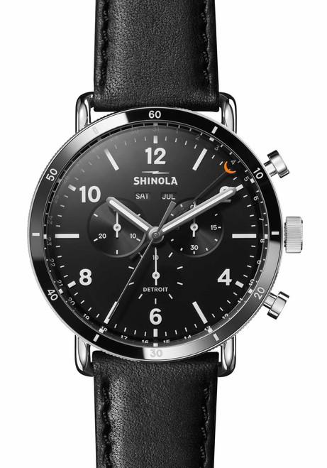30351742b41 Shinola Canfield Sport Chrono Calendar 45mm Black (S0120089889) ...