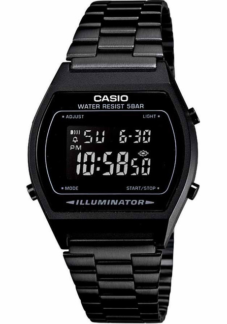 a1c36b818bc2 Casio Vintage Digital Black (B640WB-1BVT) ...