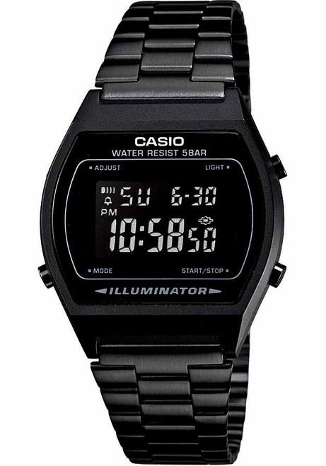 Casio Vintage Digital Black (B640WB-1BVT)