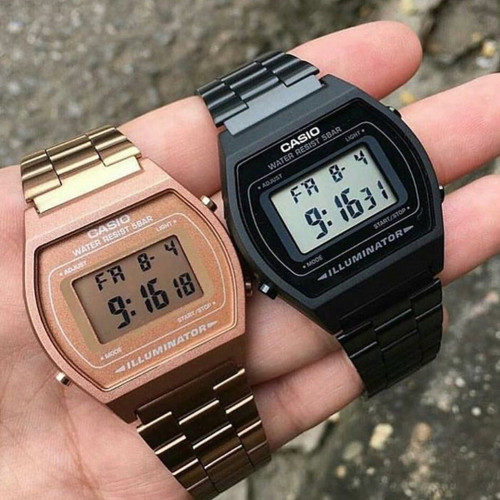 Casio Vintage Digital Black (B640WB-1BVT)