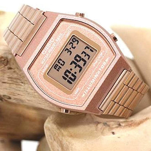 4e7d185e1b4 ... Casio Vintage Digital Rose Gold (B640WC-5AVT)
