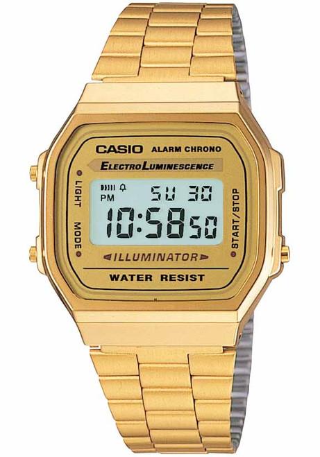 Casio Vintage Digital Gold (A168WG-9VT)