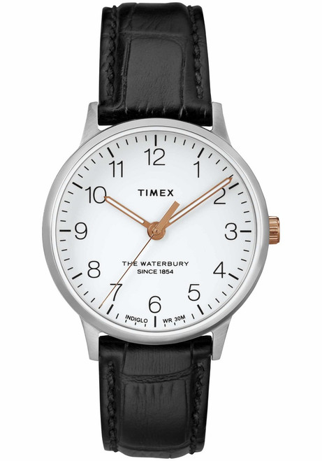 Timex Waterbury Classic 36mm Silver Black (TW2R72400)