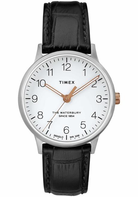 Timex Waterbury Classic 36mm Silver Black (TW2R72400)