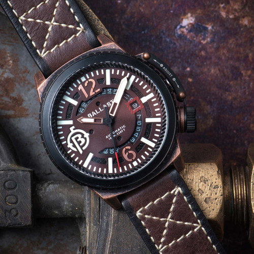 Ballast Trafalgar Automatic Brown Black (BL-3133-07)