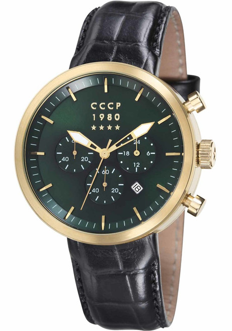 CCCP Kashalot Dress Gold Black Green (CP-7007-03)