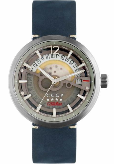 CCCP Kashalot Dress Automatic Silver Blue (CP-7008-08)
