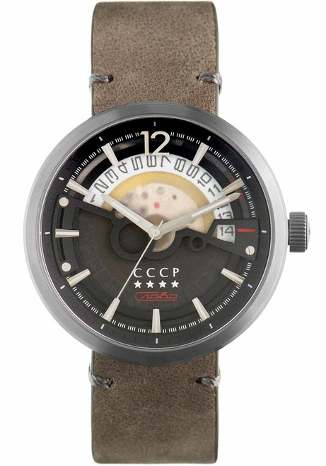 CCCP Kashalot Dress Automatic Silver Grey (CP-7008-09)