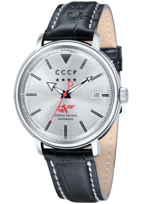 CCCP Heritage Automatic Silver Black (CP-7020-01)