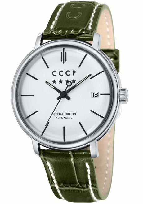 CCCP Heritage Automatic Silver Green (CP-7019-04)