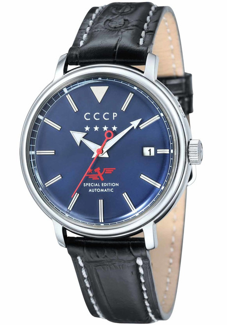 CCCP Heritage Automatic Silver Blue (CP-7020-02)
