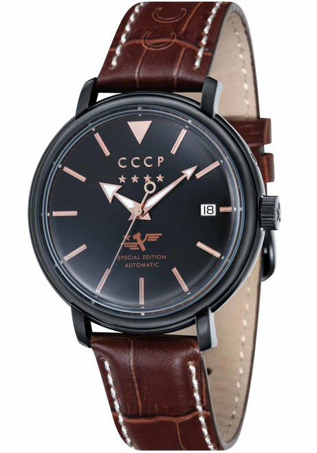 CCCP Heritage Automatic Black Brown (CP-7020-05)