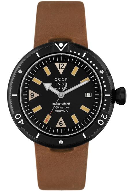 CCCP Kashalot Automatic Black Brown Black (CP-7027-01)