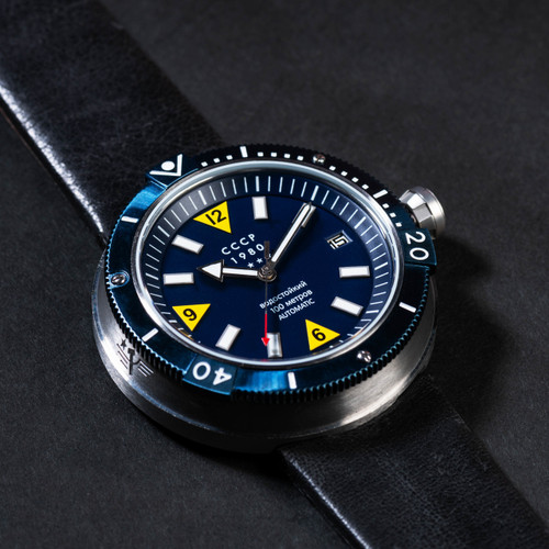 CCCP Kashalot Automatic Silver Blue (CP-7027-02)