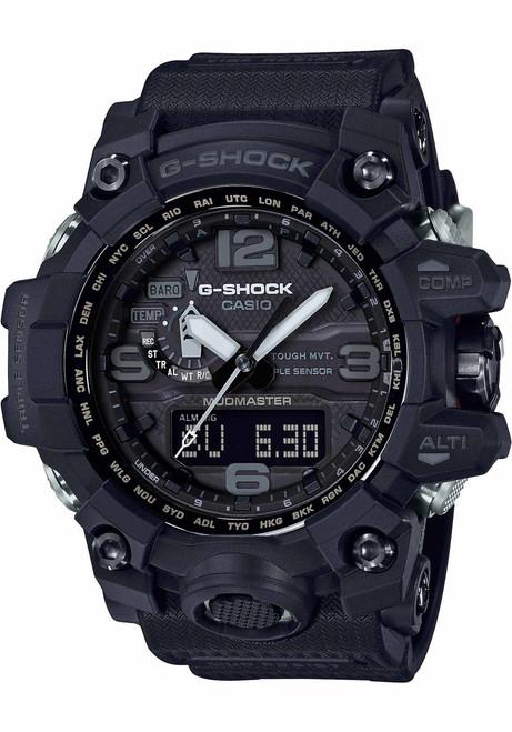 G-Shock GWG1000 Mudmaster Solar Black (GWG-1000-1A1)