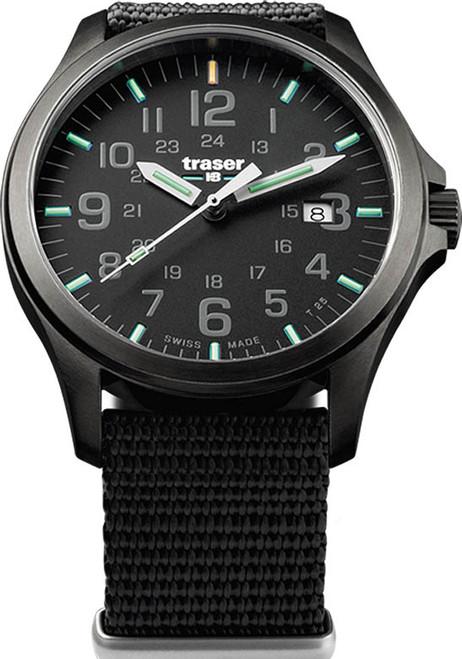 Traser Officer Pro Swiss Tritium Gunmetal Black (107422)