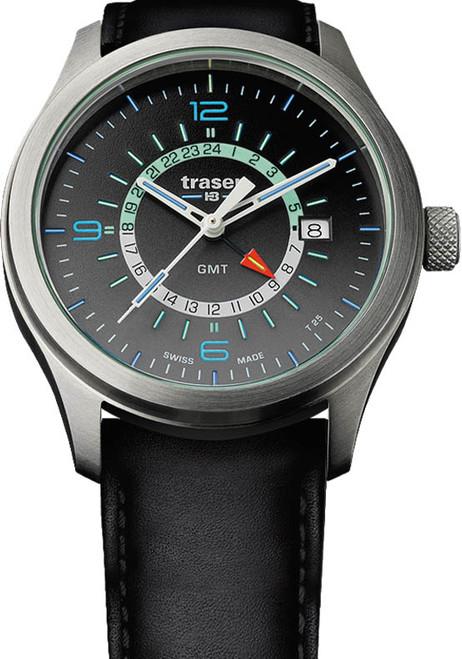 Traser Aurora Swiss GMT Tritium Black (107231)