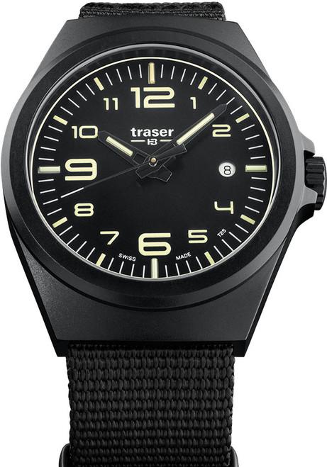 Traser P59 Essential M Swiss Tritium Black Nato (108218)