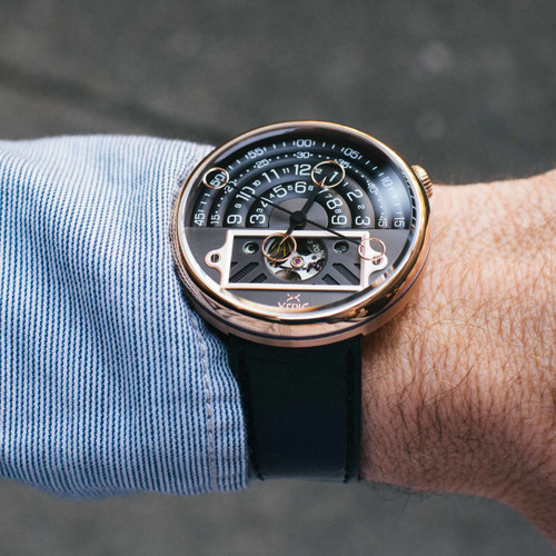 Xeric Halograph II Automatic Rose Gold Limited Edition (HGA-4432-03L)