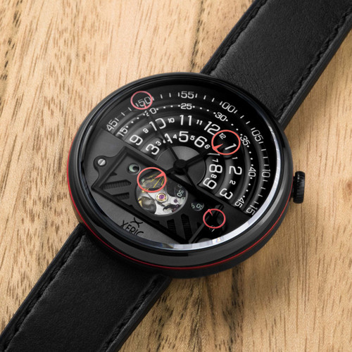 Xeric Halograph II Automatic Black Red Limited Edition (HGA-3832-03L)