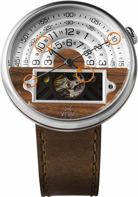 Xeric Halograph II Automatic Rosewood Limited Edition (HGA-1116-06L)