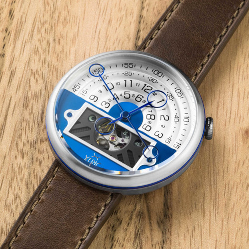 Xeric Halograph II Automatic Blue Brown Limited Edition (HGA-1117-06L)