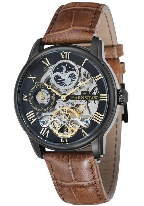 Thomas Earnshaw Longitude Automatic Black Brown (ES-8006-10)