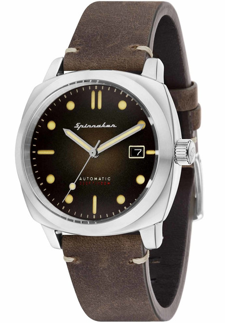 Spinnaker Hull Automatic Brown (SP-5059-02)