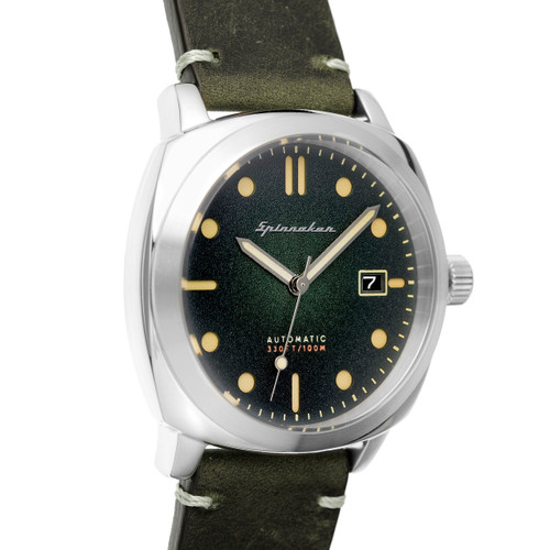 Spinnaker Hull Automatic Olive (SP-5059-03)