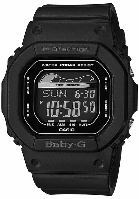 G-Shock Baby-G Retro Surf Black (BLX560-1)