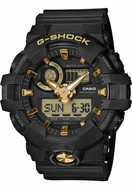 G-Shock GA710B Black Gold (GA710B-1A9)