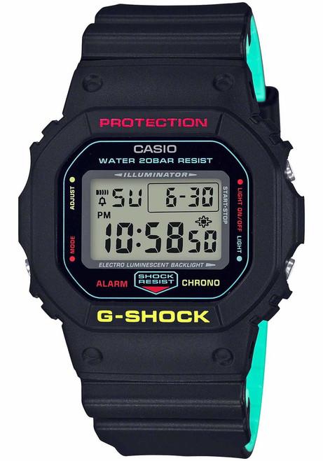 G-Shock DW5600 Black Rasta Edition (DW5600CMB-1)