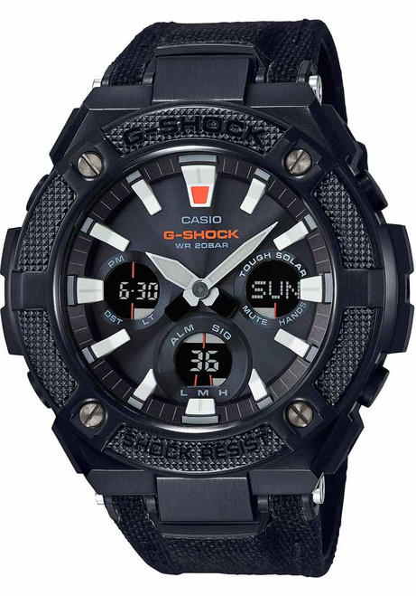 G-Shock G-Steel Street Utility Cordura Black (GSTS130BC-1A)