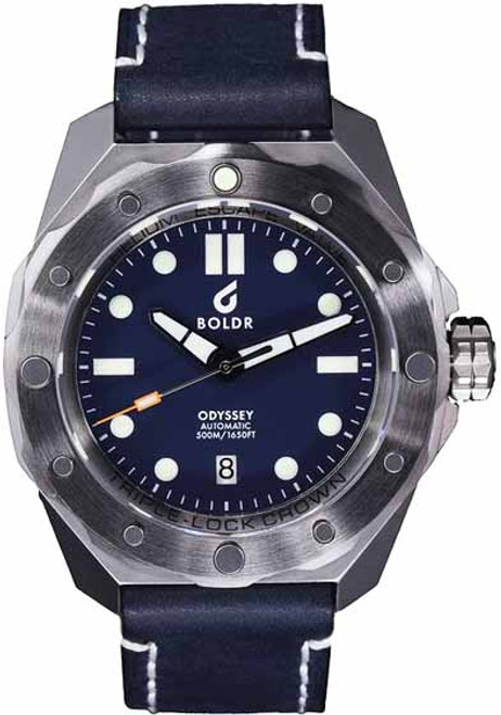 BOLDR Odyssey Automatic Steel Blue (0638455380134)