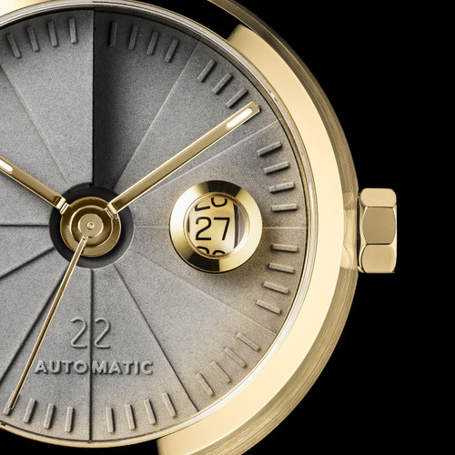 22 Design 4th Dimension Concrete Automatic Signature Brass (CMW02S02)