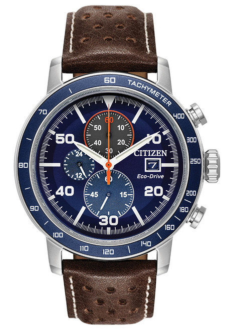 Citizen Eco-Drive Brycen Chrono Brown Blue (CA0648-09L)