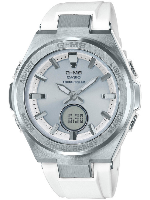 G-Shock G-MS Silver White (MSGS200-7A)
