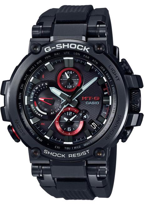 G-Shock MTG-B1000 Connected Solar Black Red (MTGB1000B-1A)