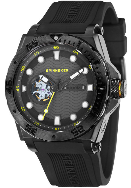 Spinnaker Overboard 1000M Automatic All Black (SP-5023-0G)