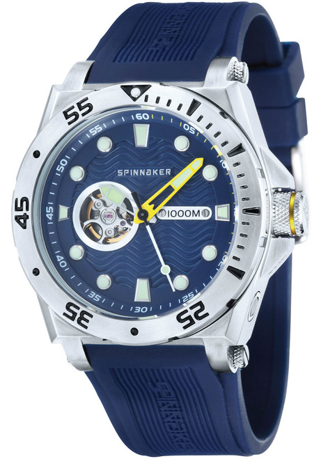 Spinnaker Overboard 1000M Automatic Blue Silver (SP-5023-0E)