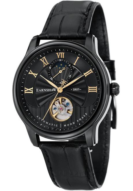 Thomas Earnshaw Longitude Moonphase Automatic Black (ES-8066-05)