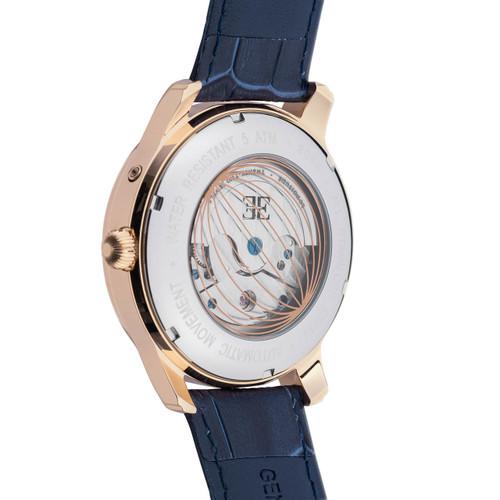 Thomas Earnshaw Longitude Moonphase Automatic Blue Rose Gold (ES-8066-06)