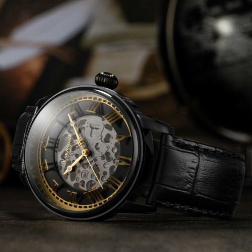 Thomas Earnshaw Precisto Longitude Alta Automatic Black (ES-8808-03)