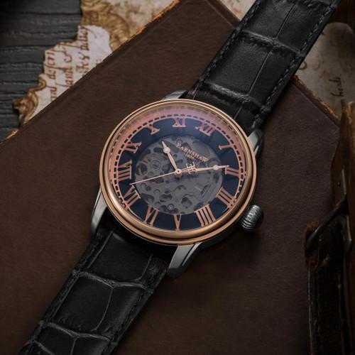 Thomas Earnshaw Precisto Longitude Alta Automatic Silver Rose Gold (ES-8808-04)