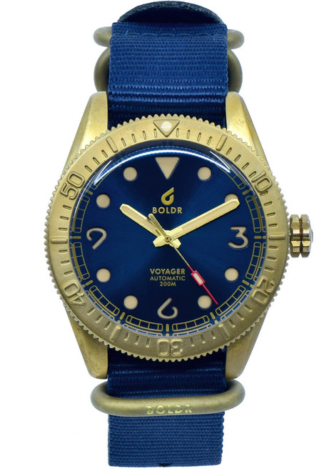 Boldr Voyager Automatic Adriatic (0638455380707)