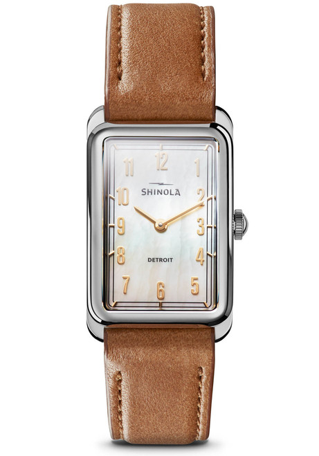 Shinola Muldowney 24mm Bourbon (S0120109240)